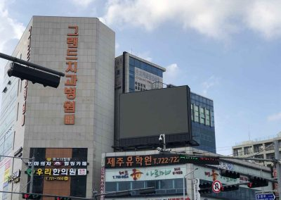 Outdoor LED Billboard,6mm, Korea,2020