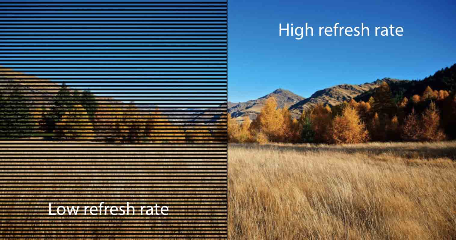 Do we need a high refresh rate LED screen??? 1