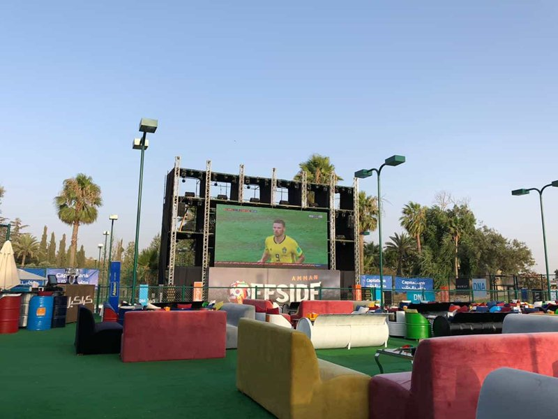 outdoor stage led screen