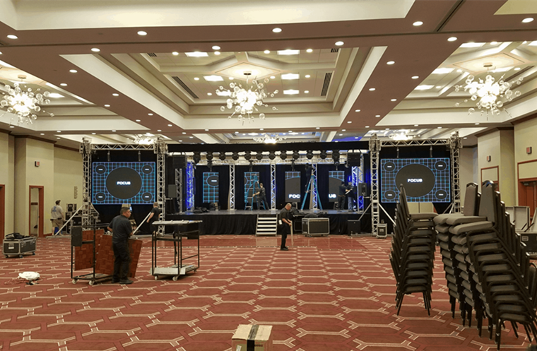 Indoor LED Display Screen for Events, Hotels Lobby, Resorts 1