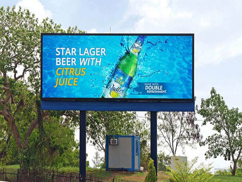 Digital outdoor led billboard