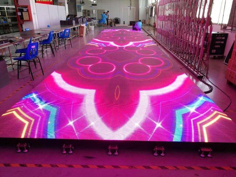 floor led screen