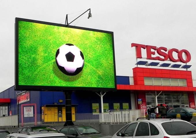 outdoor digital billboard