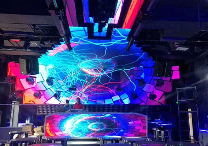 dj led screen