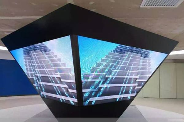 led display for museum