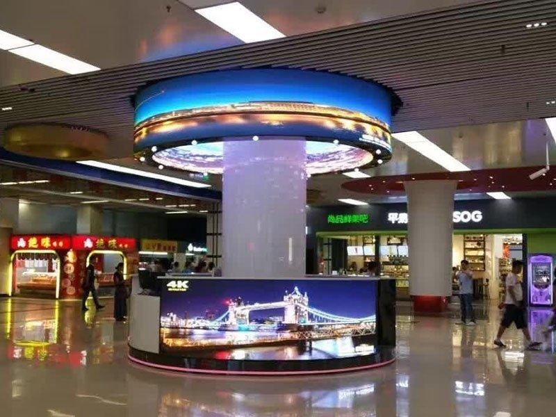 Cylinder LED screen