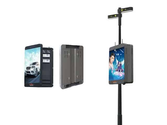 pole led display