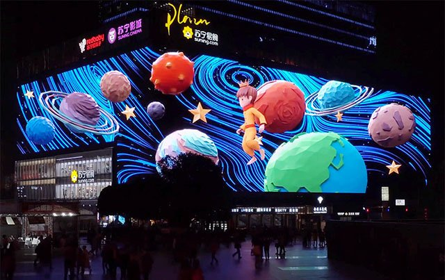 3d led display